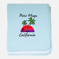 Point Mugu baby blanket