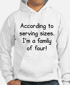 Serving Sizes Hoodie