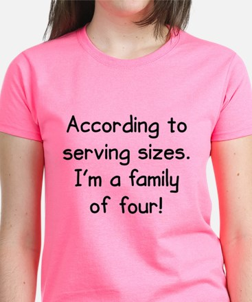 Serving Sizes Tee