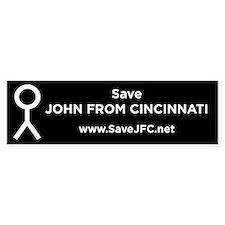 SaveJFC.net Bumper Bumper Sticker