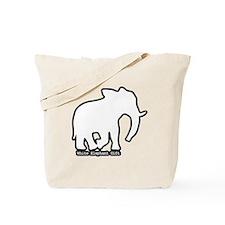 White Elephant Gift Tote Bag