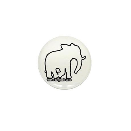 White Elephant Gift Mini Button (10 pack)