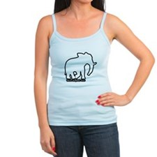 White Elephant Gift Jr.Spaghetti Strap