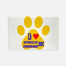 I Love Appenzeller Sennenhunde Do Rectangle Magnet