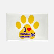 I Love Appenzeller Sen Rectangle Magnet (100 pack)