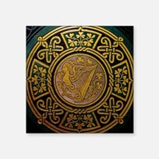 "Cute Irish design Square Sticker 3"" x 3"""