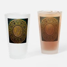Unique Irish vintage Drinking Glass