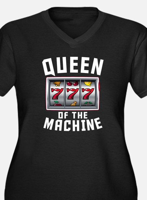 Queen Of The Machine Plus Size T-Shirt