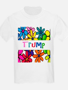 Trump Daisy Design T-Shirt