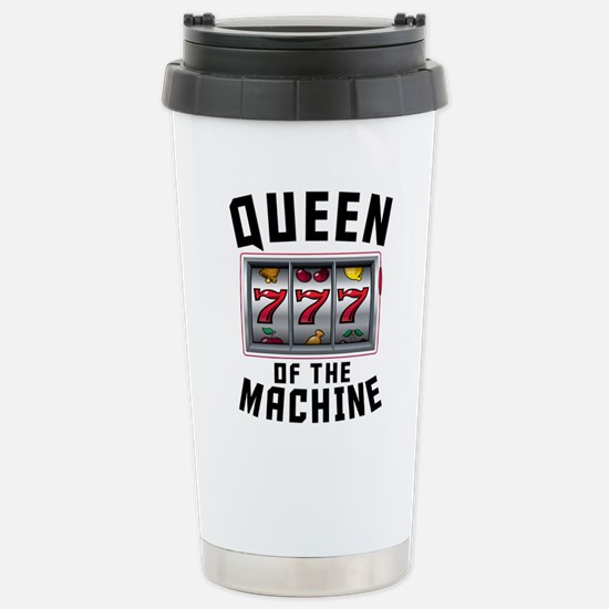 Queen Of The Machine Travel Mug