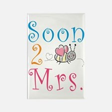 Soon 2 Bee Mrs. Rectangle Magnet