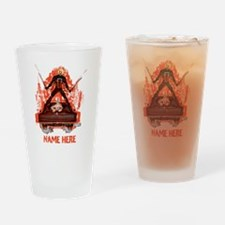 Ghost Rider Swords Personalized Drinking Glass