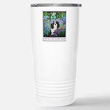 Unique Christmas dog Travel Mug