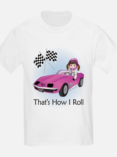 Race Car Babe (BR) T-Shirt