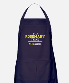 ROSEMARY thing, you wouldn't understa Apron (dark)