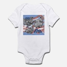 Travis AFB Triplets Infant Bodysuit