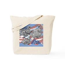 Travis AFB Triplets Tote Bag