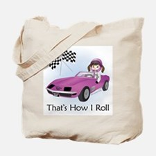 Race Car Babe (BR) Tote Bag