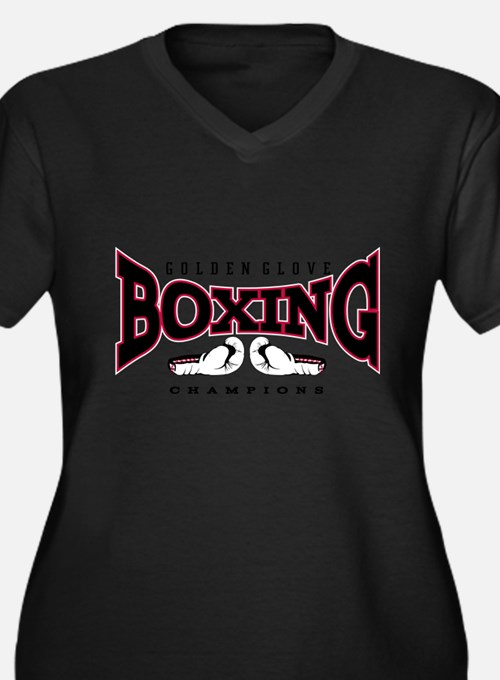 boxing Plus Size T-Shirt
