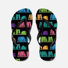 Book Lover Librarian Reader Flip Flops