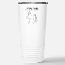 Nothing Trots Like a Saddlebred Travel Mug