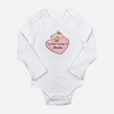 Heart Belongs To Abuela Body Suit