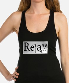 Funny Sports Racerback Tank Top
