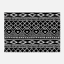 African Tribal Pattern 5'x7'Area Rug