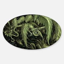 green leaf dragon Decal