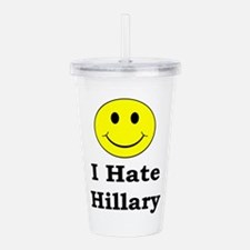 Cool Funny political Acrylic Double-wall Tumbler