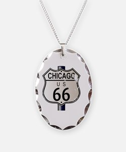 Cute Road 66 Necklace