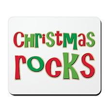 Christmas Rocks Love Holiday Mousepad