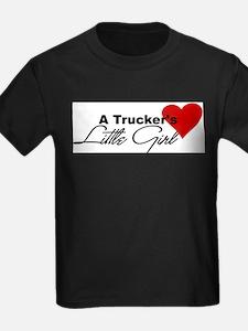 Trucker's Little Girl Ash Grey T-Shirt