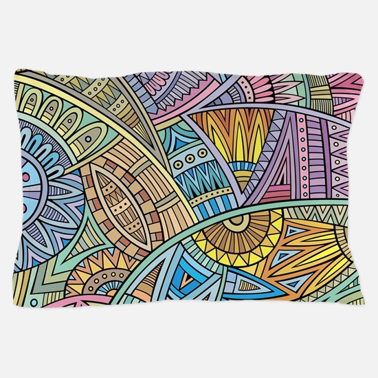 Colorful Abstract Pillow Case