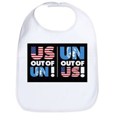 Bib with UN out of US/ US out of UN!