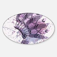 Purple Headdress Decal