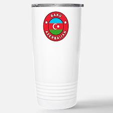 Baku Azerbaijan Travel Mug