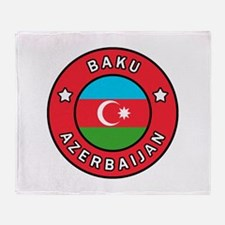 Baku Azerbaijan Throw Blanket
