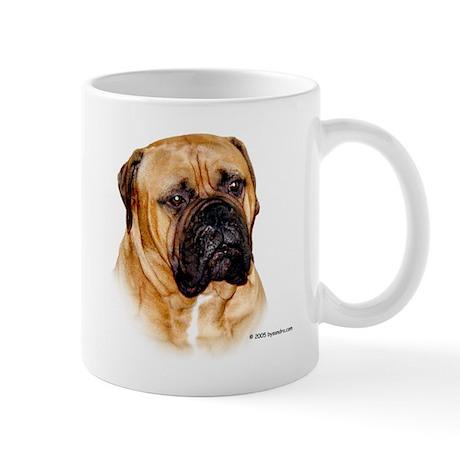 Baby the Bullmastiff Mug