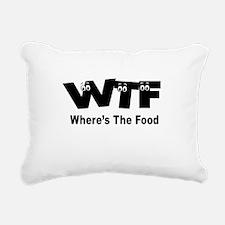Funny Hangry Rectangular Canvas Pillow