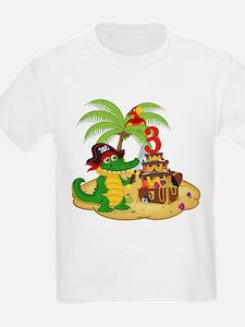Pirate 3rd Birthday T-Shirt