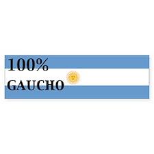 100% gaucho Bumper Bumper Sticker