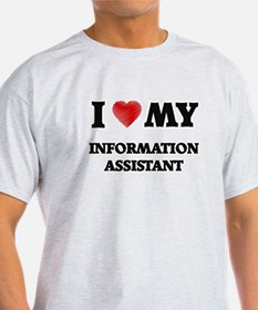 I love my Information Assistant T-Shirt