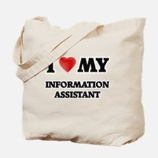 I love my Information Assistant Tote Bag
