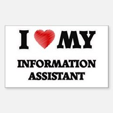 I love my Information Assistant Decal
