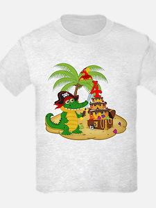 Pirate 4th Birthday T-Shirt
