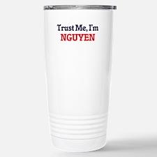 Trust Me, I'm Nguyen Travel Mug