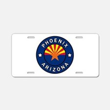 Phoenix Arizona Aluminum License Plate