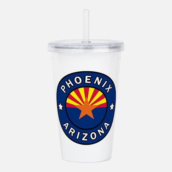 Phoenix Arizona Acrylic Double-wall Tumbler