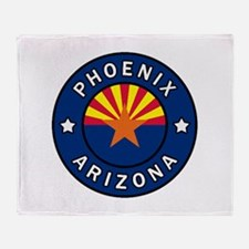 Phoenix Arizona Throw Blanket
